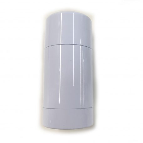 Empty Deodorant Container - Bottom-Fill White Cylinder 2.5 OZ