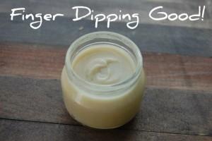 finger dipping