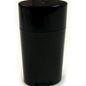 Classic Top Fill (Black) - Empty Plastic Deodorant Container DIY Deodorant