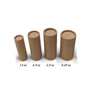 1 or 2 or 2.5 or 3 oz cardboard container Main Image