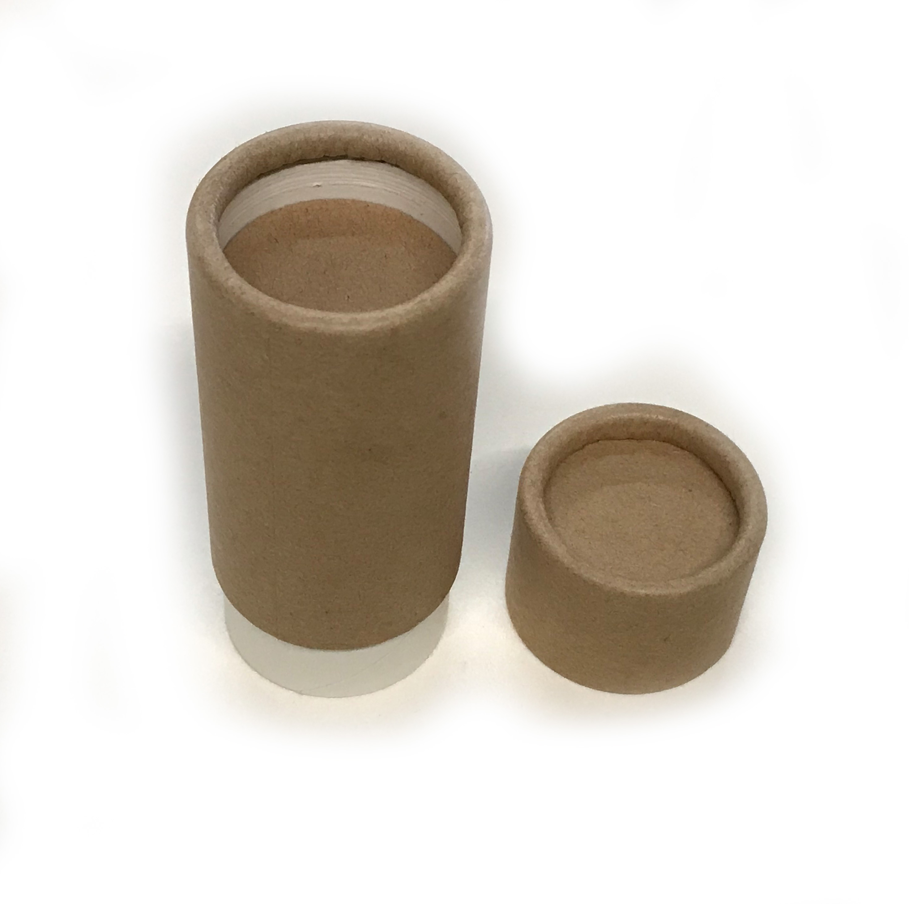 - FREE SHIPPING - Empty Cardboard Deodorant Containers, Biodegradable,  Top-Fill, Push-Up (Style #1)
