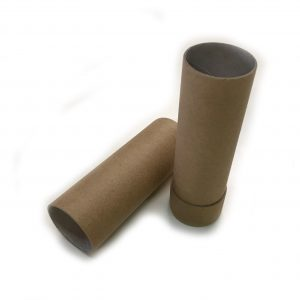 Empty Cardboard Deodorant Container, biodegradable, top-fill, push-up style #2