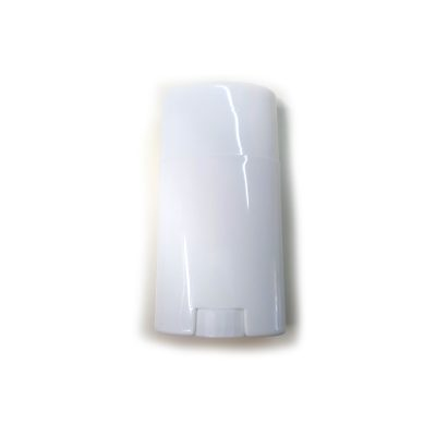 Bottom-Fill Oval Deodorant Container White