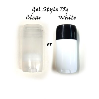 Gel Style 75g #2 in Clear or White Main